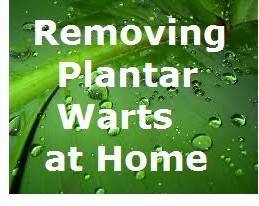 Removing Plantar Warts